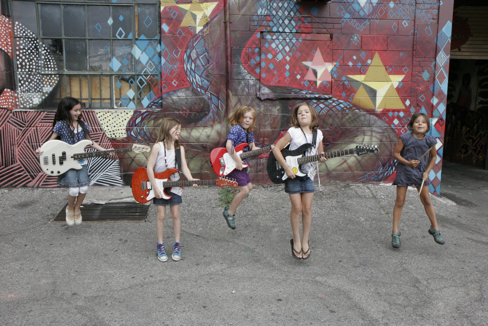 The GRCT Scholarship Fund - Make a one-time donation and help send a kid to Girls Rock Camp. Any amount helps!