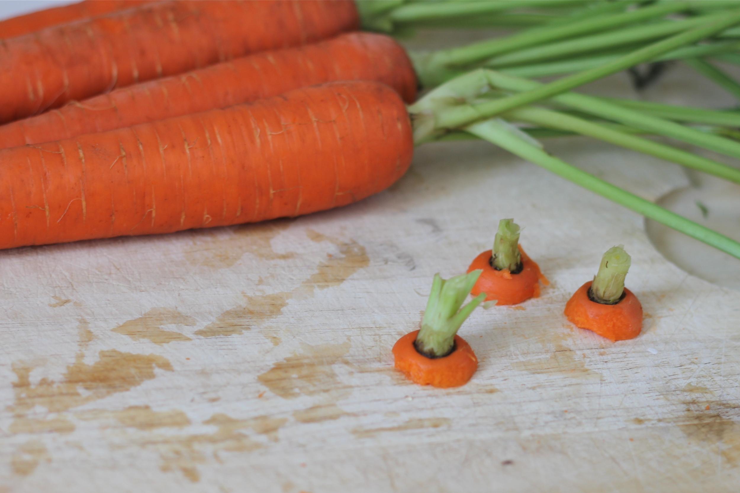{carrot caps}