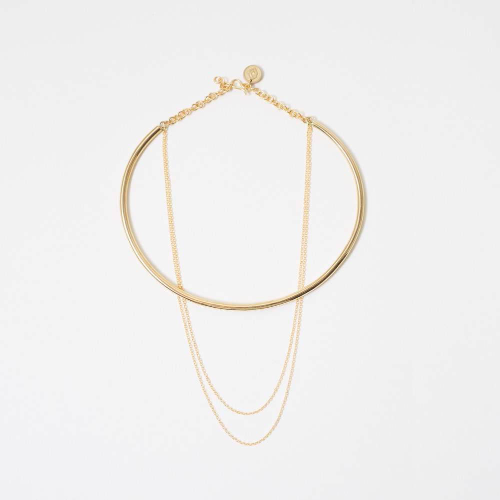 Delicate Chain Choker, $95 Photo via shopsoko.com