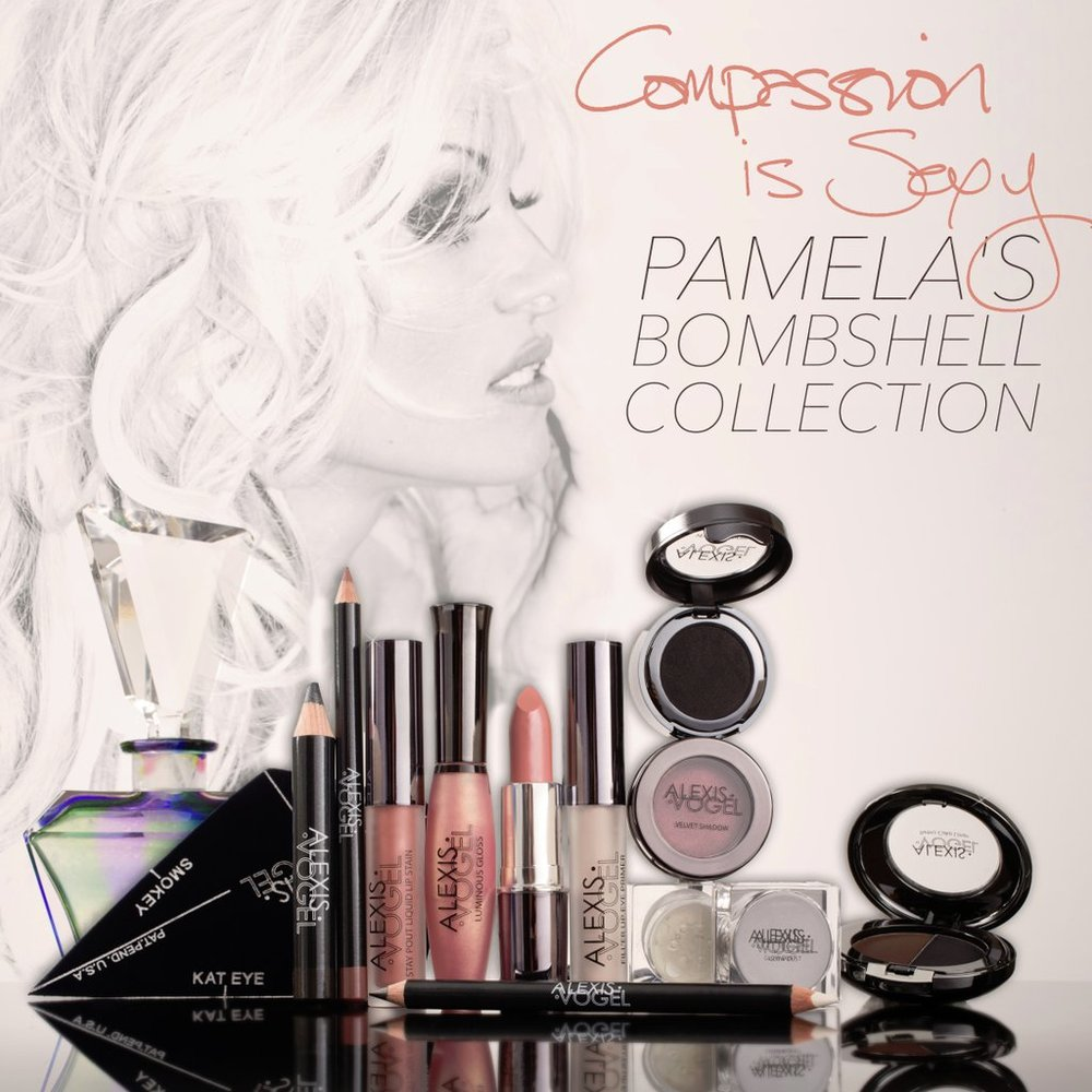 PAMELA ANDERSON LAUNCHES VEGAN & ANIMAL CRUELTY FREE MAKEUP LINE ...