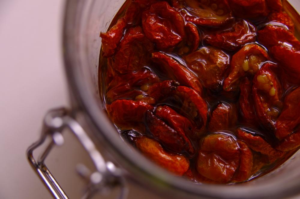 Semi Dried cherry tomatoes