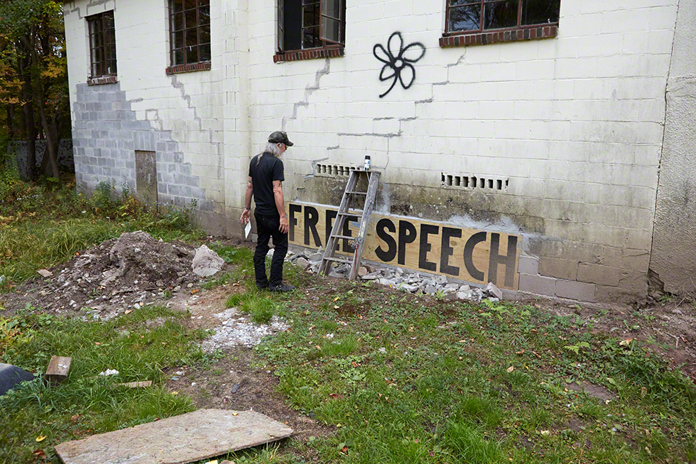 Free Speech in progress