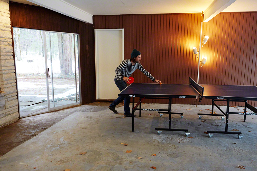 Ping Pong gets the creative juices flowing