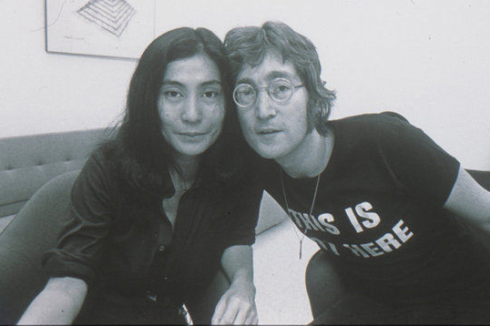 Yoko Ono & John Lennon, Courtesy of Everson Museum of Art