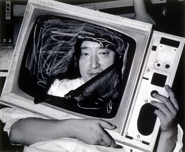 Nam June Paik in New York, 1983 Ph: Lim Young-Kyun