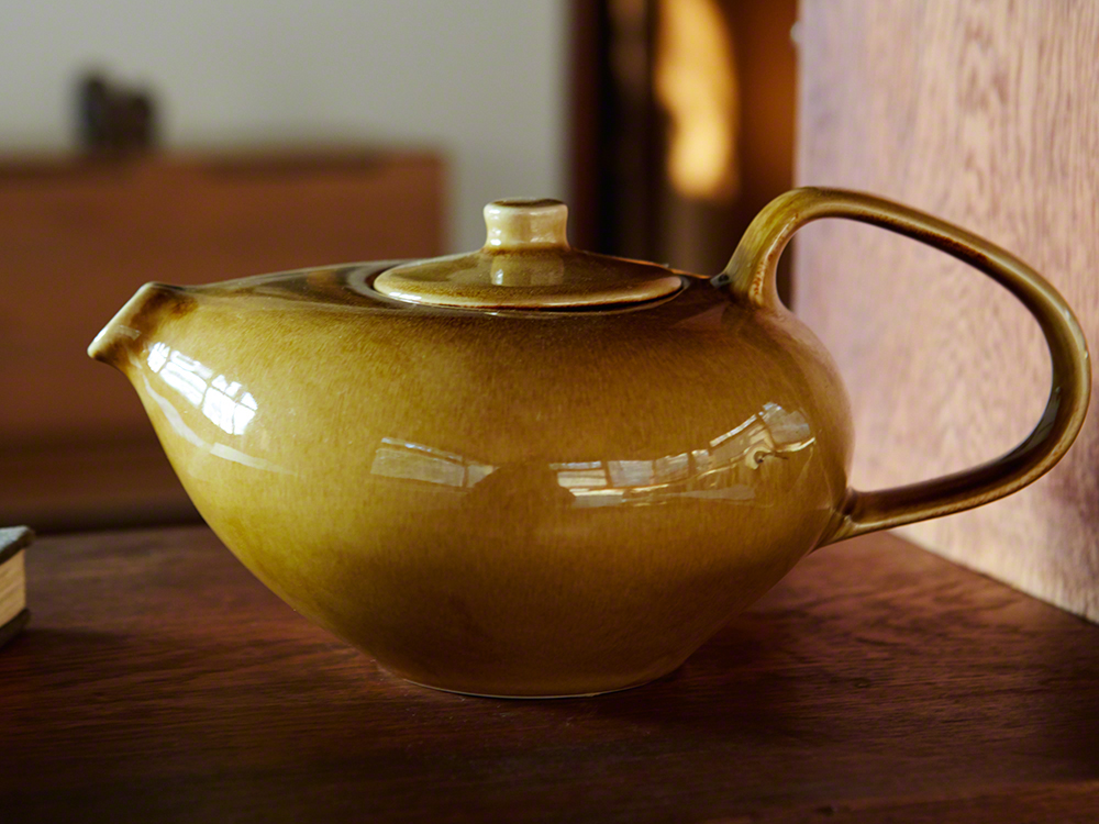 Reissued Tea pot by Oneida.