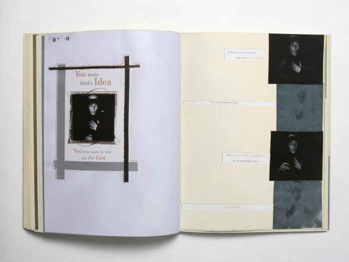 Pages from Reisebuch 1-5, 1996-2009.                                   Courtesy of the Artist.