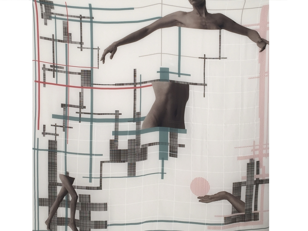 Silk screen scarf, 2012. Courtesy of the Artist.