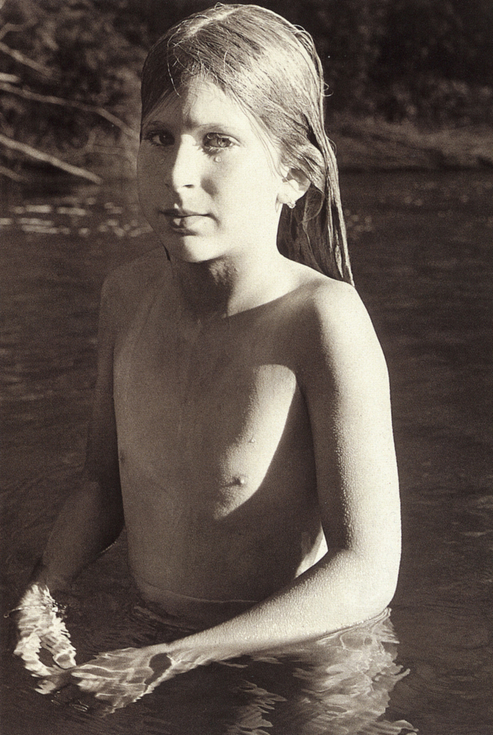 Evyan, Kinderhook Creek. 1975 Permanent Collection MoMA Ph: Sheila Metzner