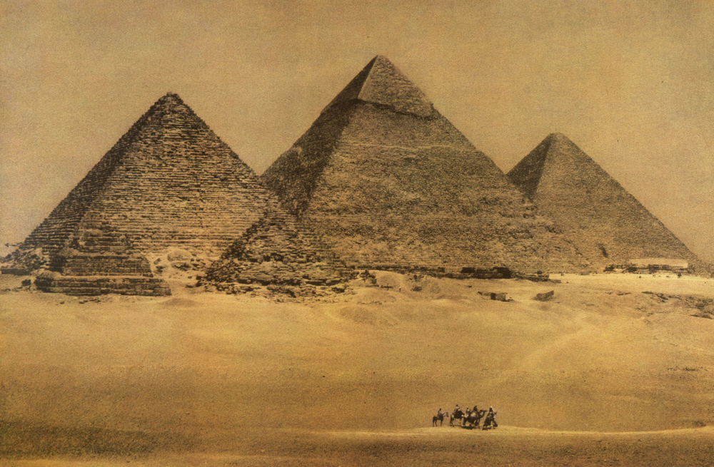 The Great Pyramids. Giza, 1996                                                                                                                                                                                                        Ph: Sheila Metzner