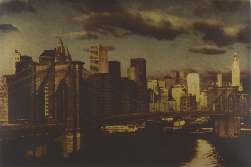 Brooklyn Bridge. Hokusai Series, 2007                                                                                                                                                                                                Ph: Sheila Metzner