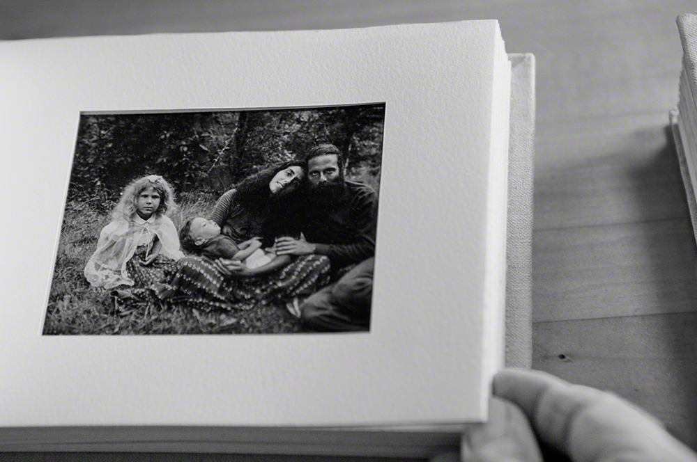 From left: Evyan, Raven in Sheilas arms and Jeffrey in 1969 near Woodstock. Photo: Art Kane