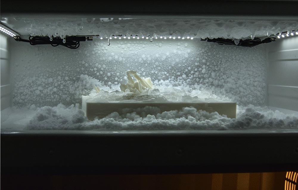 The Sea of Ice, Fridge , 3D print.