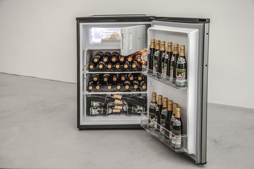 The Sea of Ice, Fridge, 3D print, and free Beer.