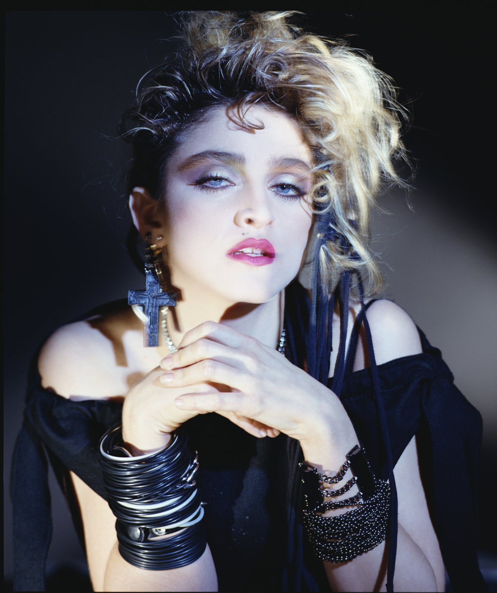Madonna, 1983. Courtesy of George Holz Studio.