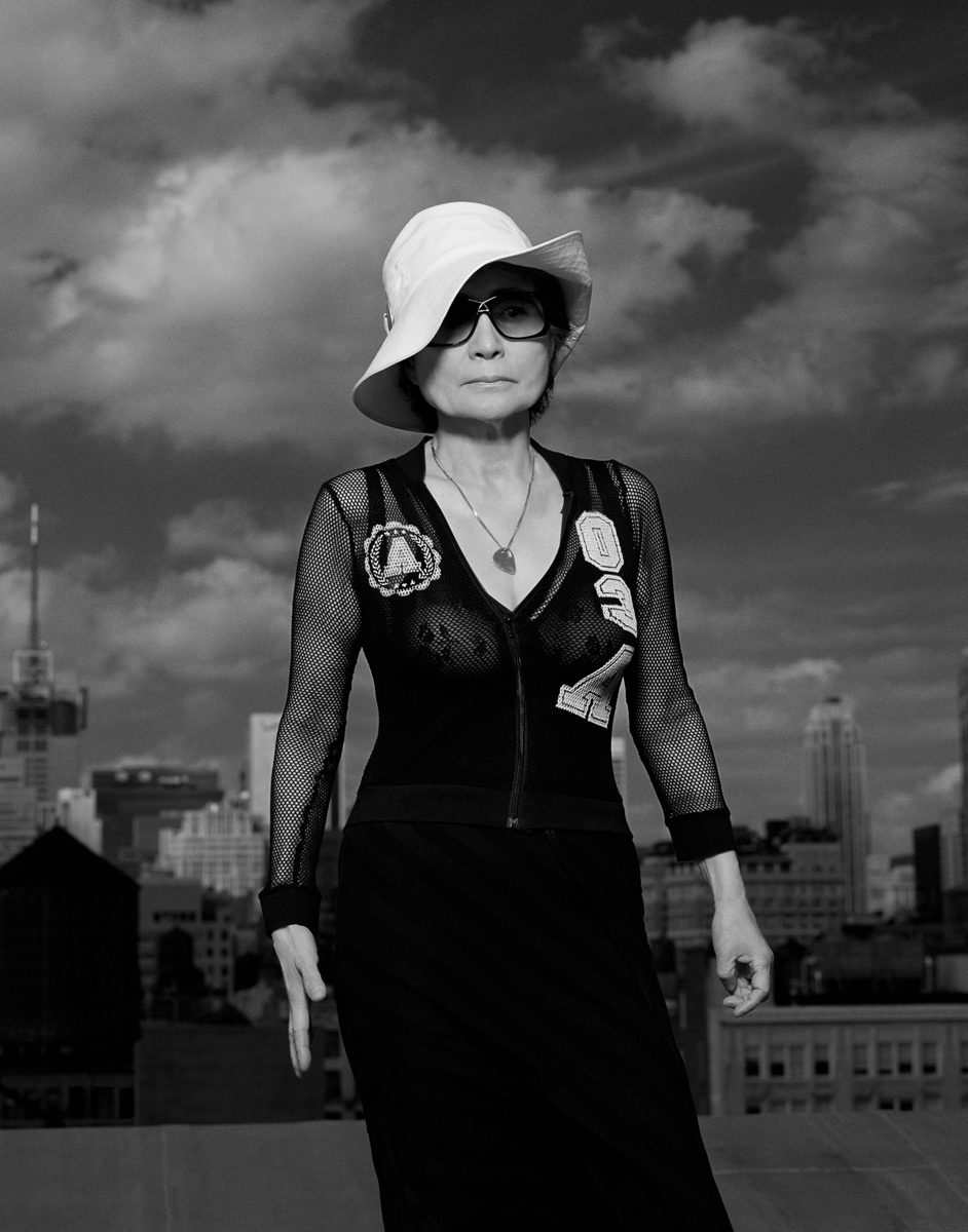 Yoko Ono, 2004. Courtesy of George Holz Studio.
