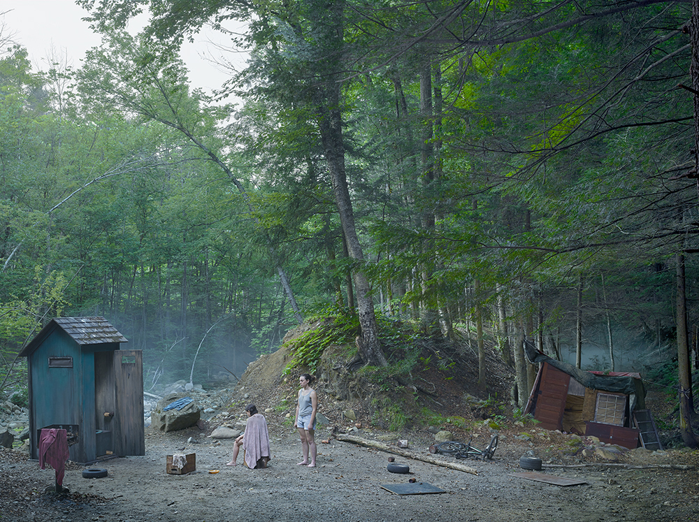 The Haircut , 2014 Digital pigment print.  © Gregory CrewdsonCourtesy of  Gagosian Gallery