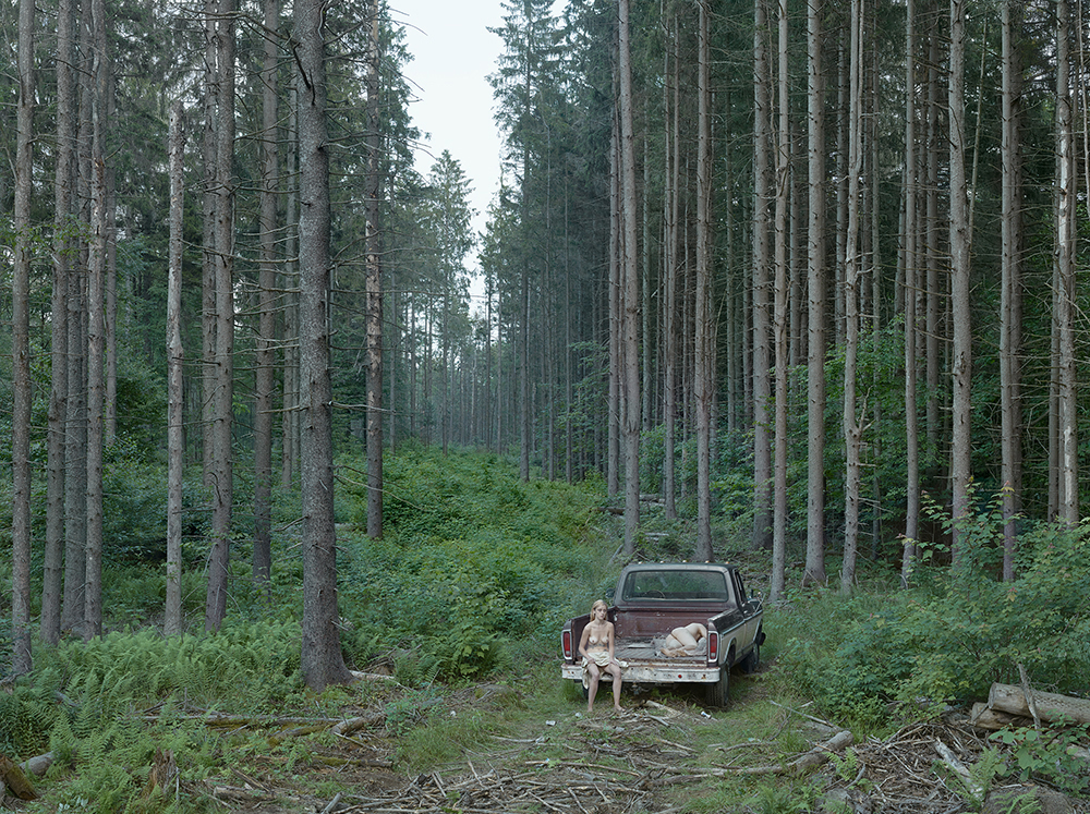 The Pickup Truck, 2014 Digital pigment print. © Gregory CrewdsonCourtesy of Gagosian Gallery