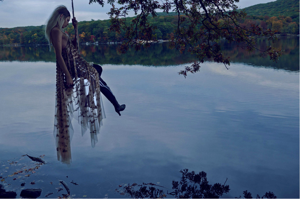 Muse Magazine with Aline Weber. Fashion Editor: Sarah Ellison-Prat Ph; Beau Grealy.