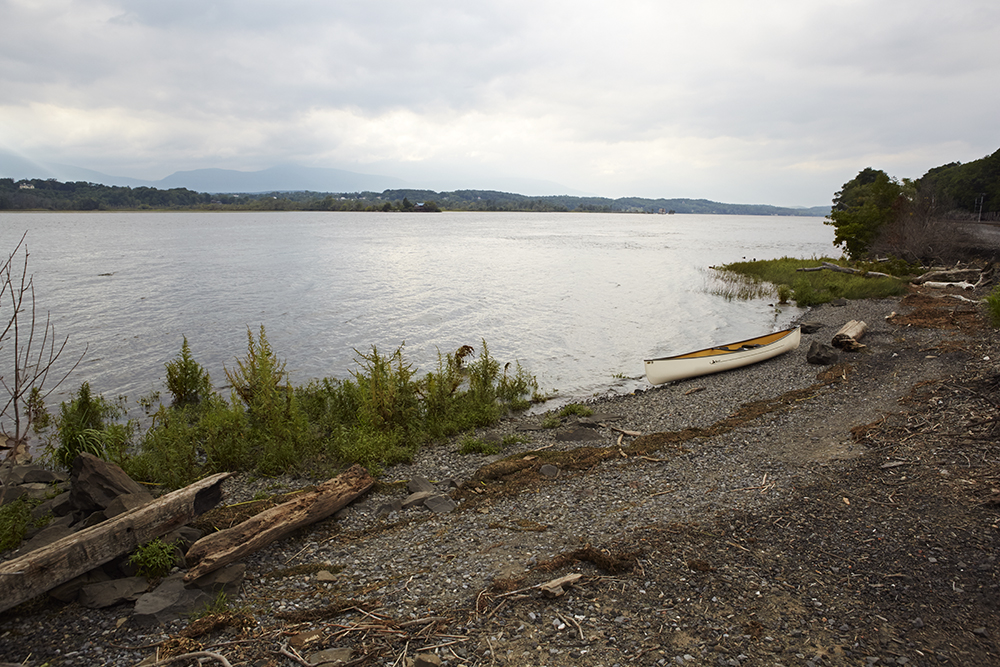 A spot along the Hudson River, just north of Tivoli Bays, to launch a canoe and then enjoy a meal at  The Corner  at the  Tivoli Hotel  .