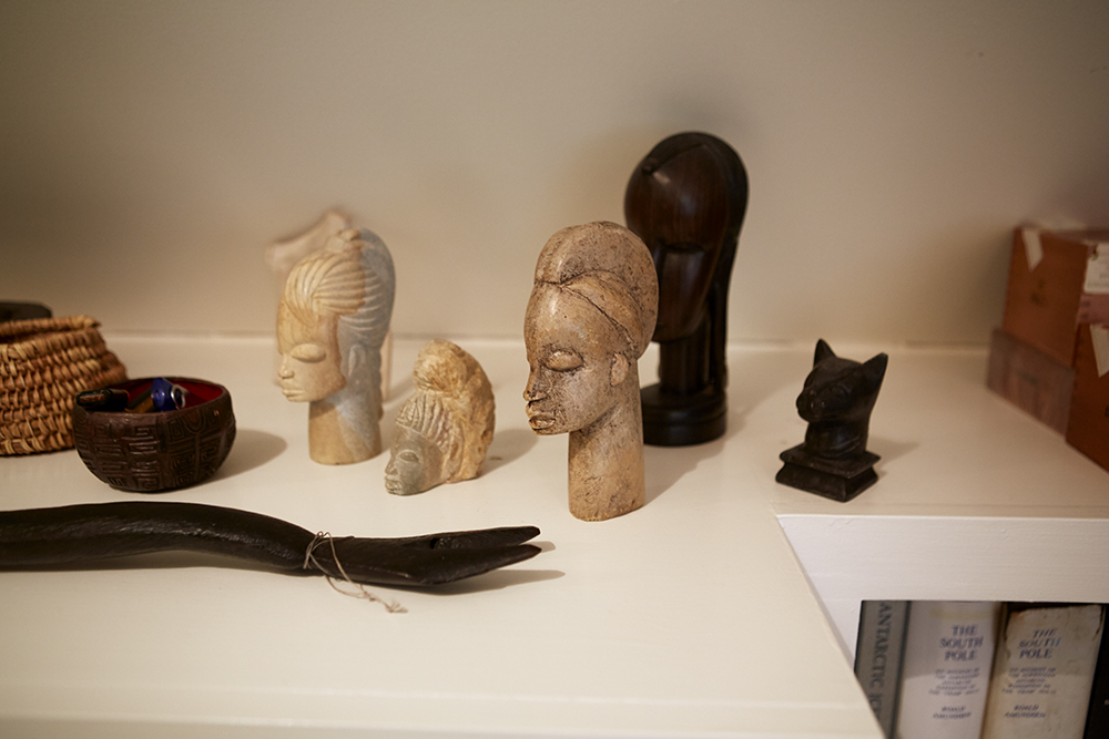 Soapstone carvings from North Africa.