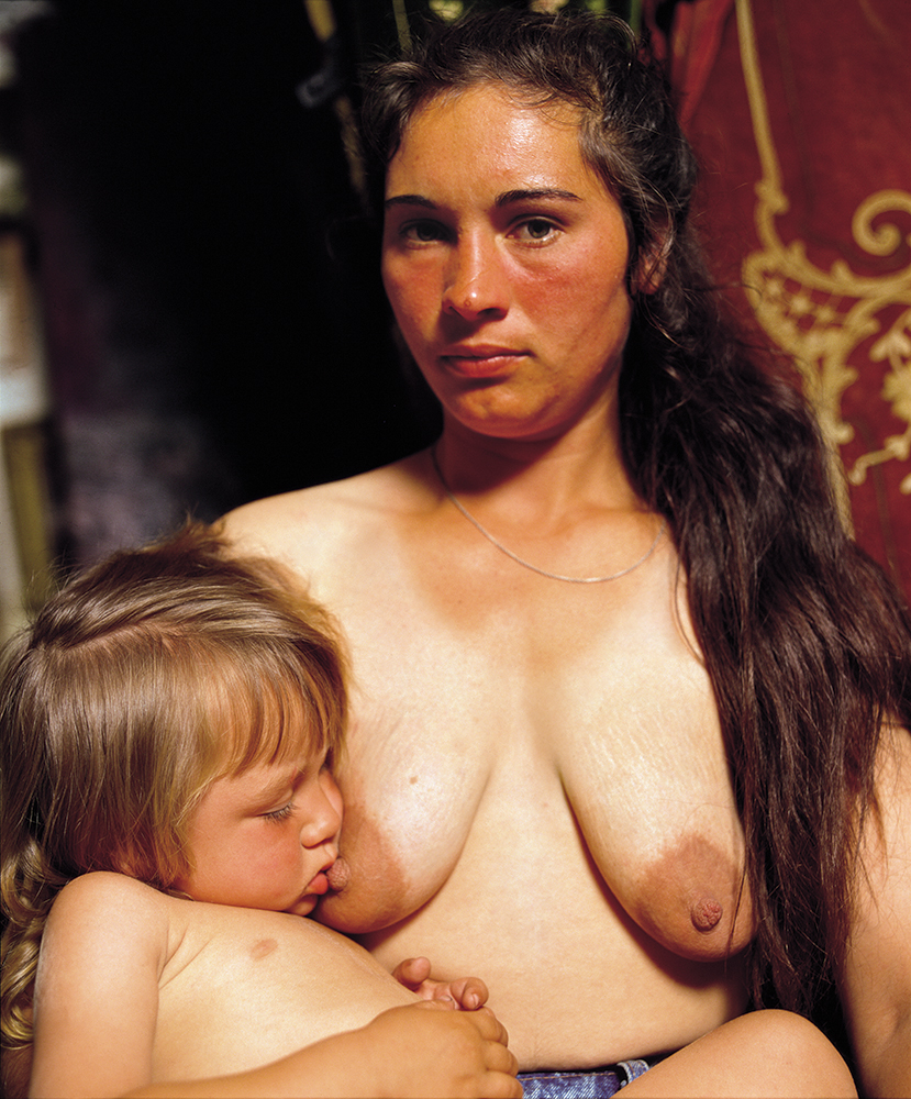 Mother & Child (Budapest), 1994 by Andres Serrano.