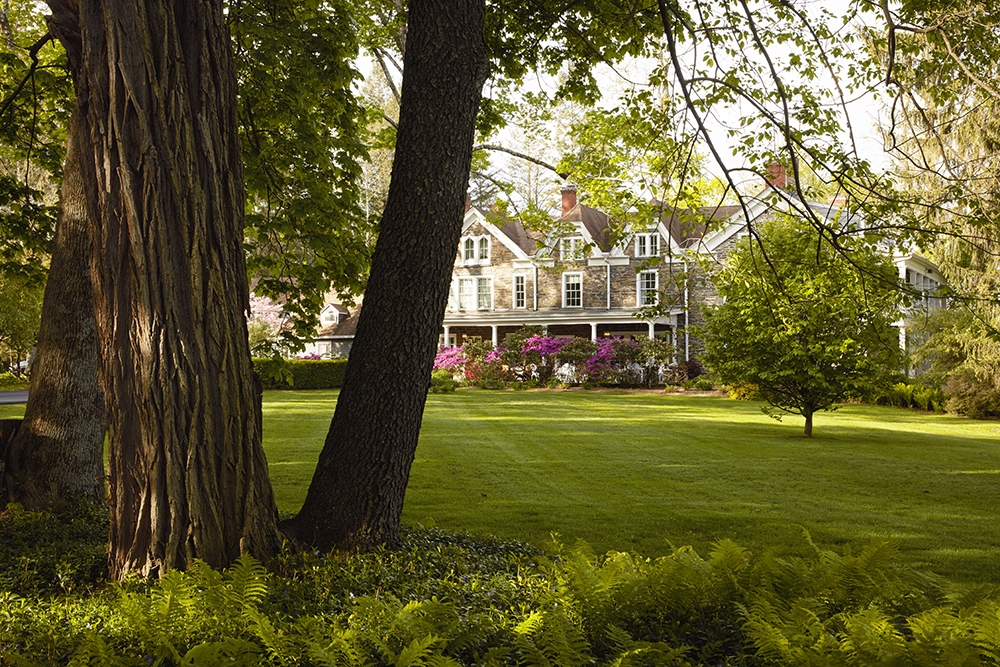 Where history meets luxury - Hasbrouck House.