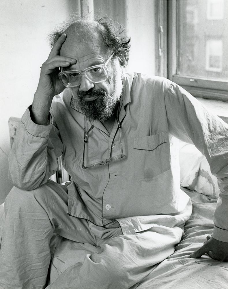 Allen Ginsberg, 1987.