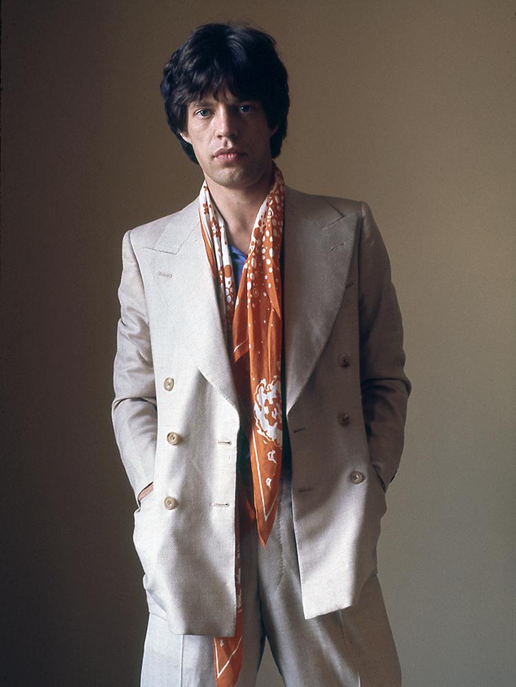 Mick Jagger,1975.