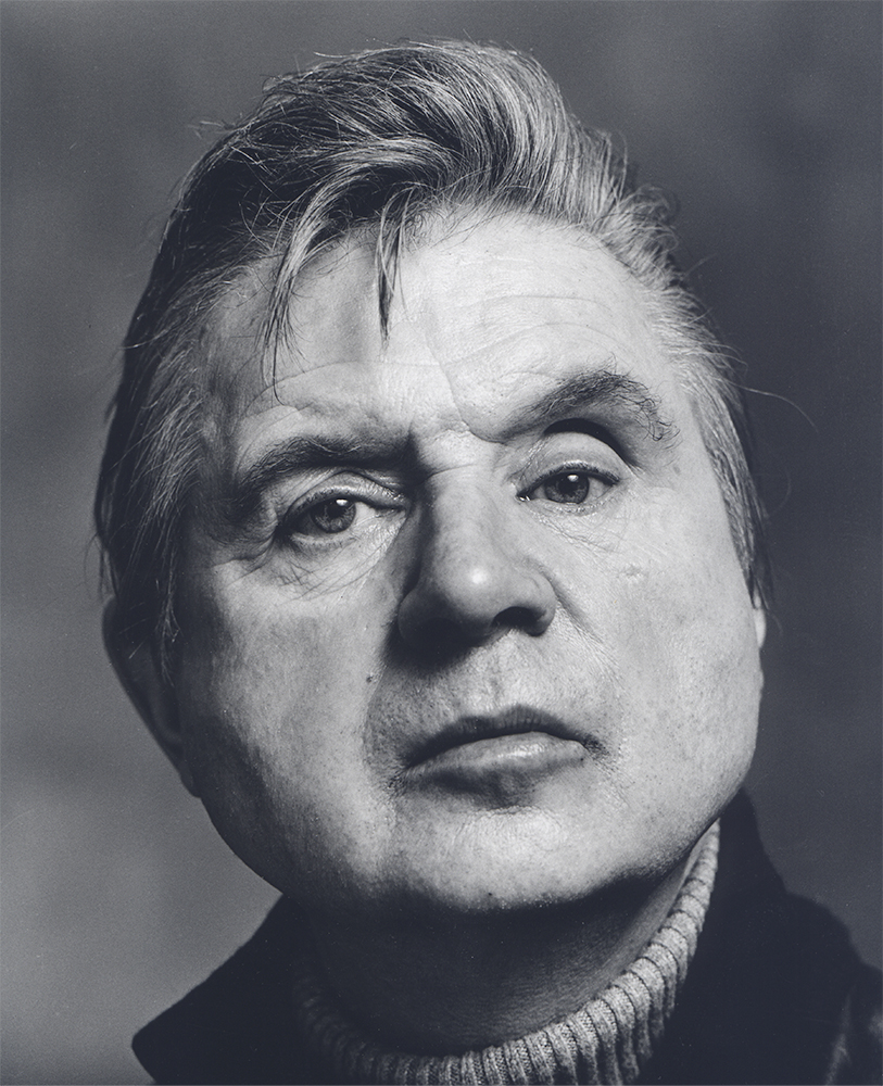 Francis Bacon, 1976.