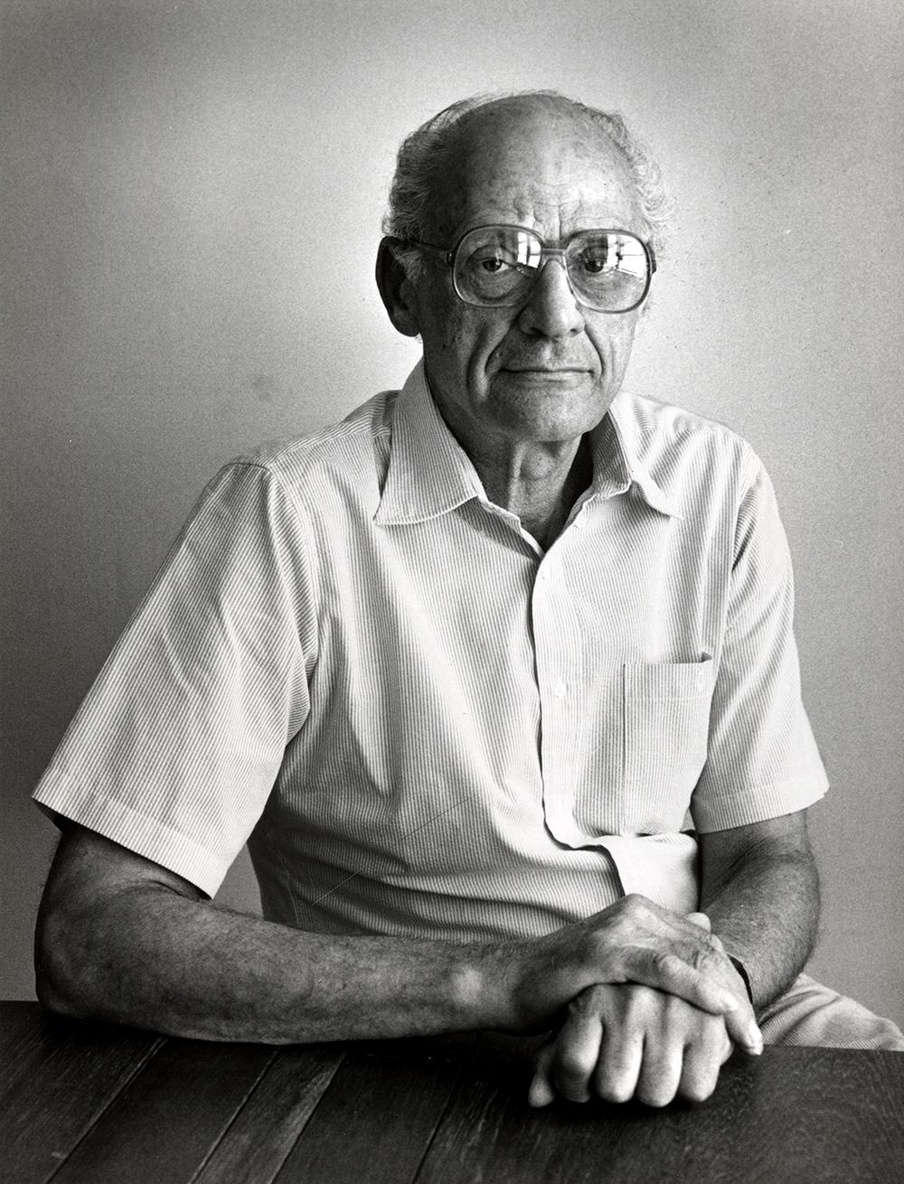 Arthur Miller, 1983.