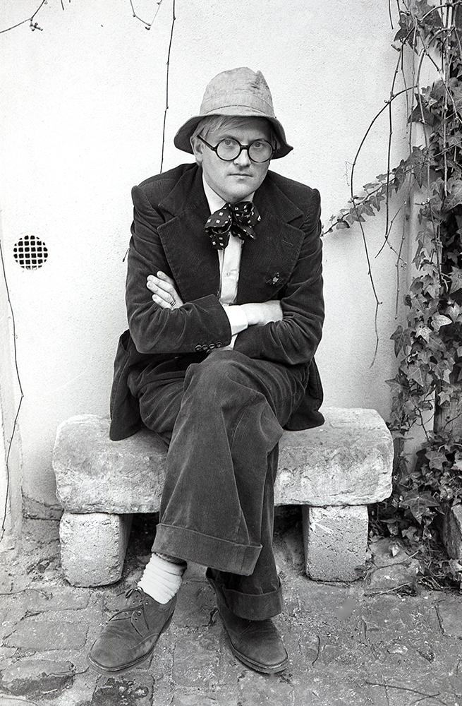 David Hockney, 1975.