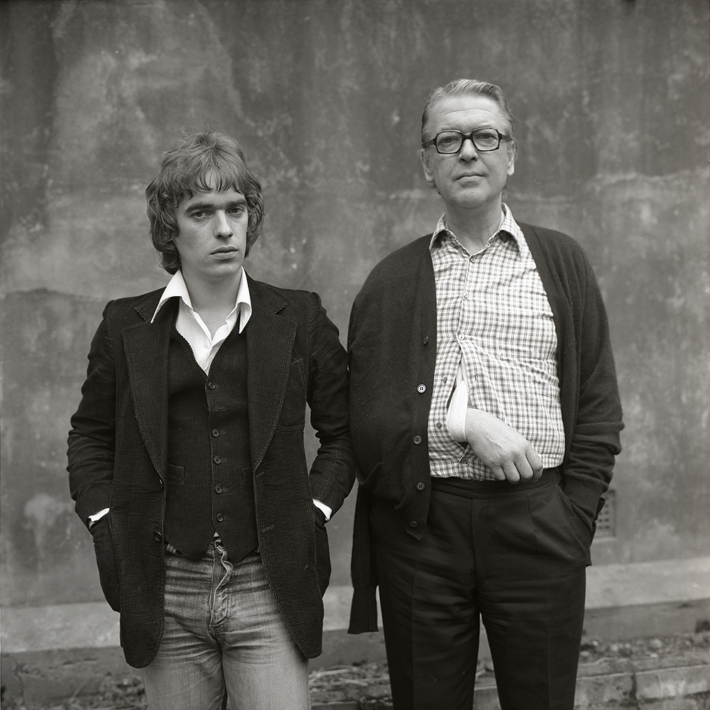 Martin and Kingsley Amis, 1979.