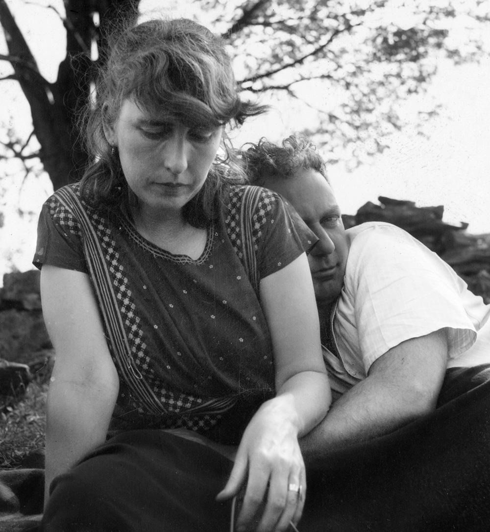 Louisa and Calder, Roxbury 1940.