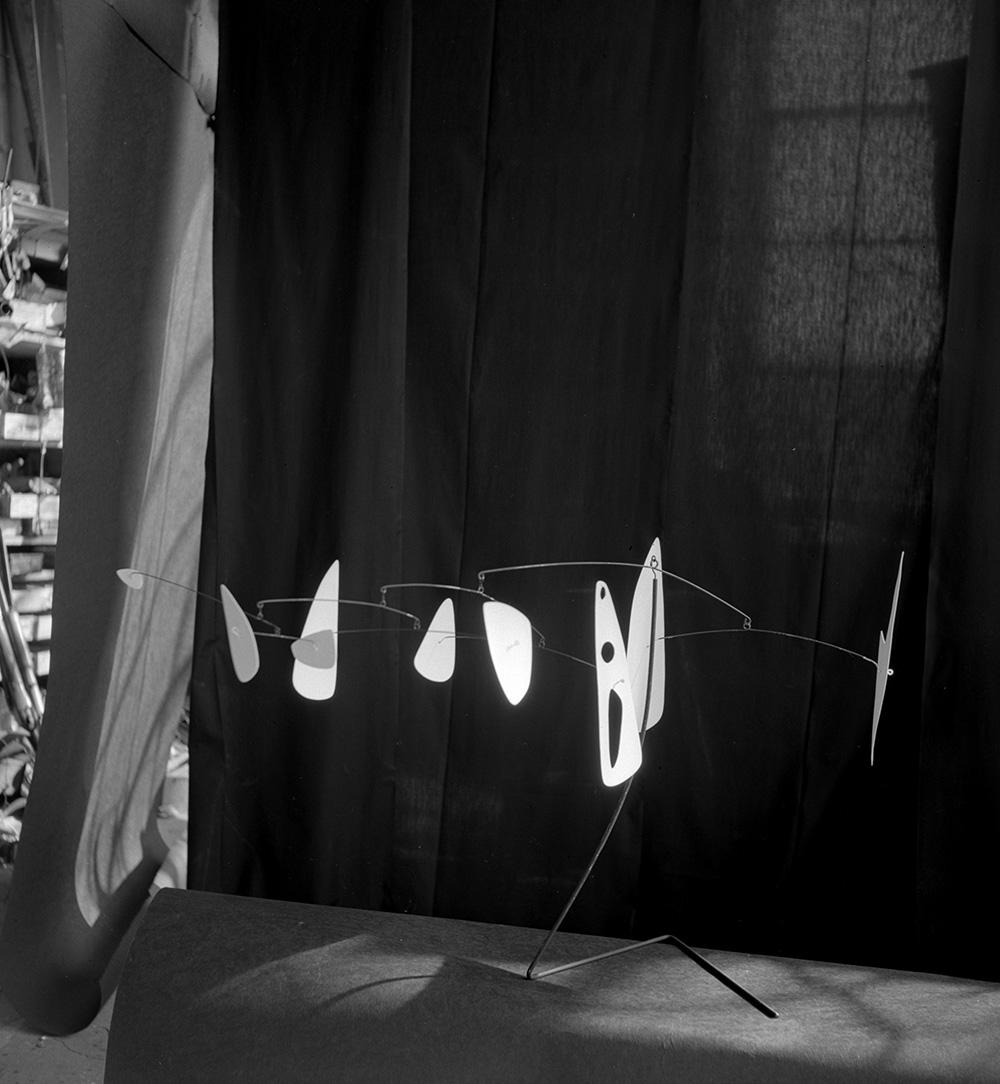Moths I , (1947) in the Roxbury studio 1947.