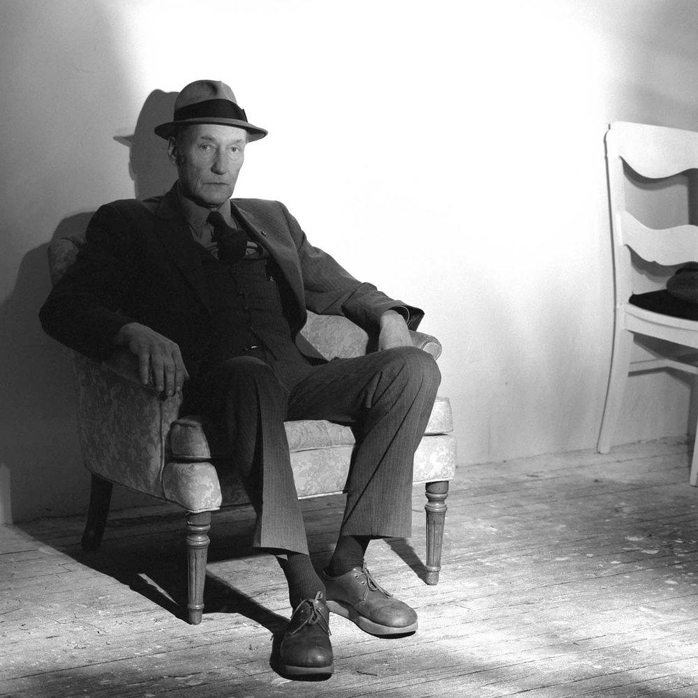 William Burroughs,  1985.