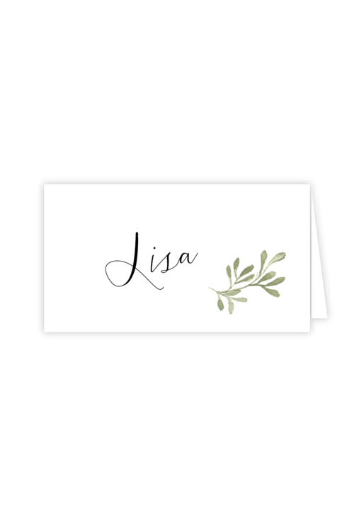 olive grove place cards willow design events