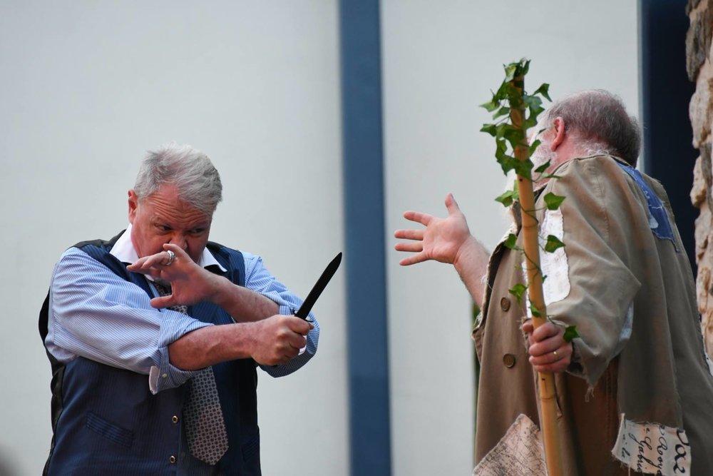 Antonio and Prospero