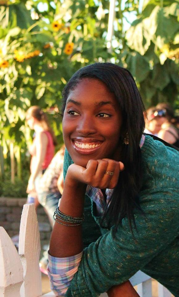 Sonya Harris, Affiliate and Customer Relations Intern, always has a smile on her face.