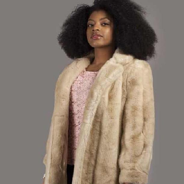 Glamorous vintage fur coat. Afrobeatnikshop.com #Afrobeatnik #vintage #seattle #fashion