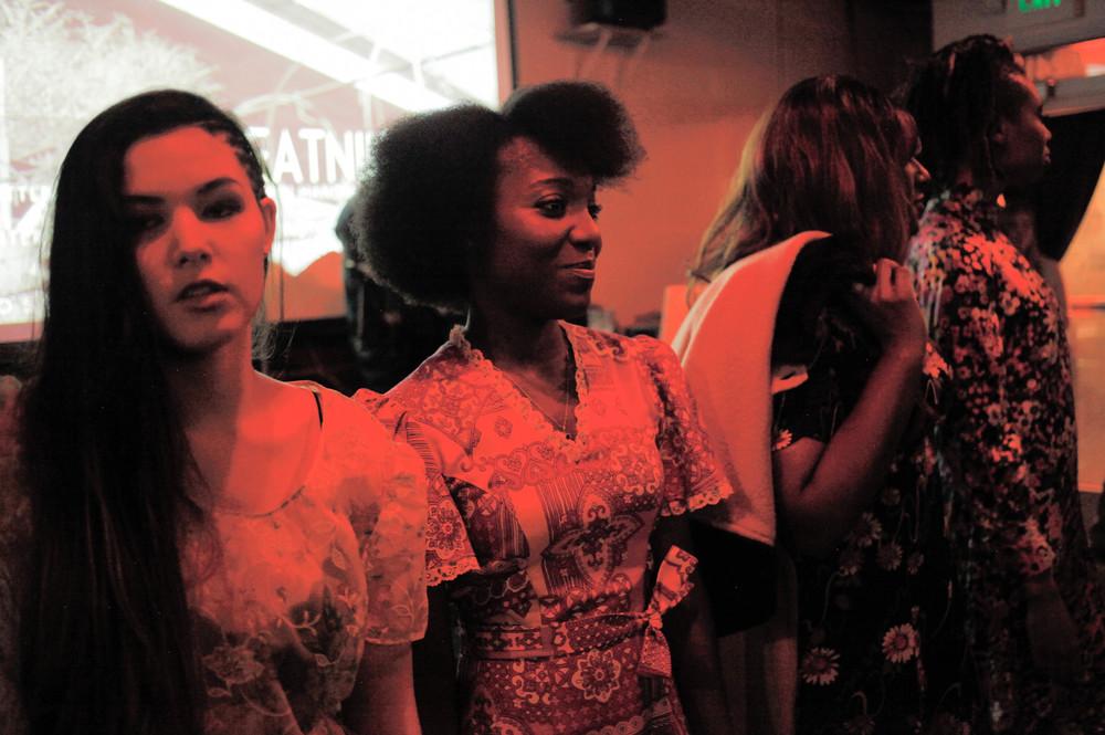 Afrobeatnik models.