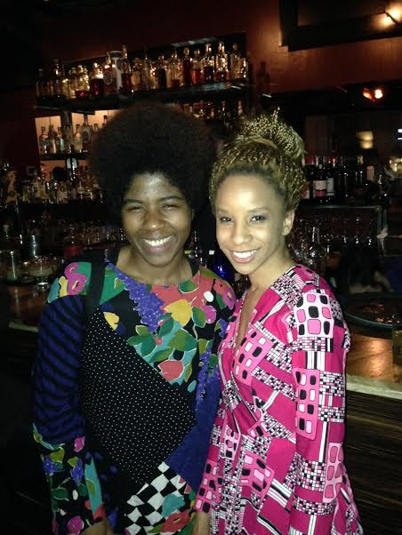 Catherine Harris-White and Afrobeatnik founder Angela Moorer