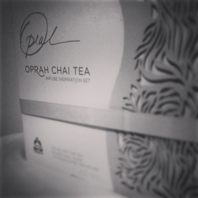 Current Afrobeatnik staff obsession: Oprah's Teavana Chai Tea from Starbucks. Uh.maz.ing.ly. delicious!