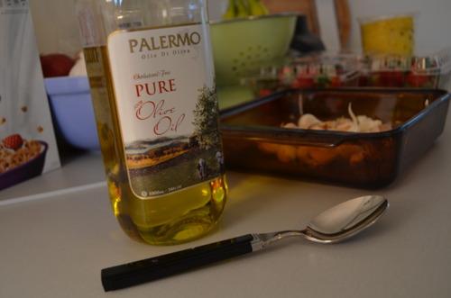 Take 2 tsp olive o.