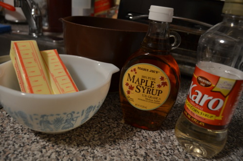 Act II: Make the syrup.