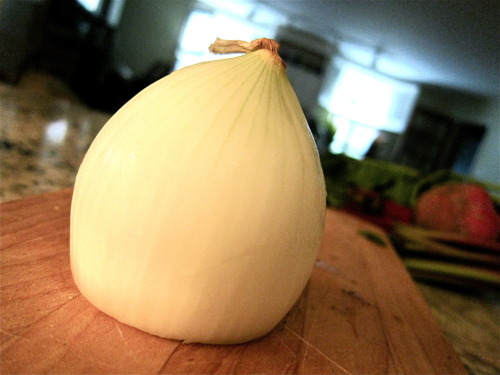 1 onion.