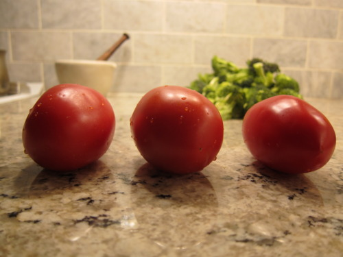 And that tomatoes have anti-aging benefits?