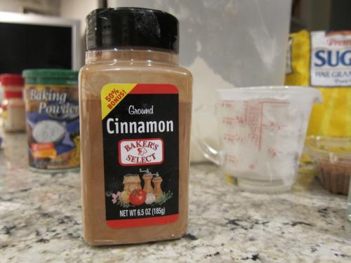 1/4 tsp cinnamon girl.