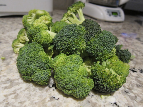 Make like Dana Carvey and choppa ya broccoli.