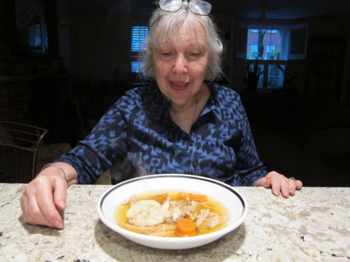 Impress Grandma with soup.
